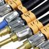 Manômetro de Pressão e Vazão p/ Bomba de Combustível com 17 Mangueiras de Injeção Eletrônica Anti Chama - Imagem 5