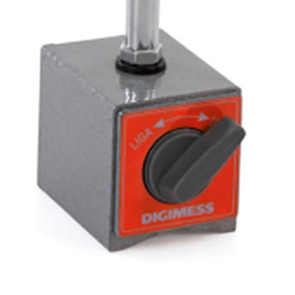 Suporte Magnético para Relógios Comparadores e Apalpadores com Ajuste Fino - Imagem zoom