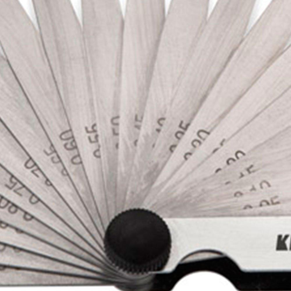 Jogo de Calibradores de Folga 0.05 - 1mm com 20 Lâminas - Imagem zoom