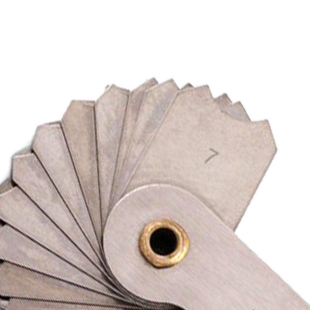 Calibradores de Raio 7,0 a 14,5mm com 32 Lâminas - Imagem zoom