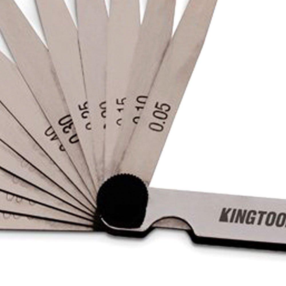 Jogo de Calibradores de Folga 0,05 - 1mm com 13 Lâminas - Imagem zoom