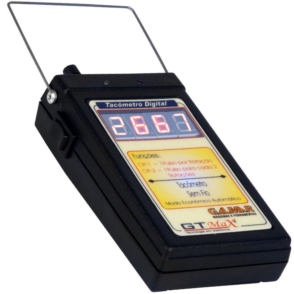 Tacômetro Digital sem Fio Indutivo GTMAX - Imagem zoom