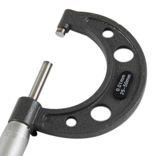 Micrômetro Externo de 25 a 50 x 0,01mm - Imagem zoom