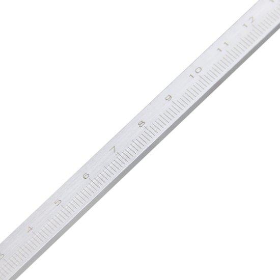 Paquímetro de Profundidade em Aço Inox de 200 mm - Imagem zoom
