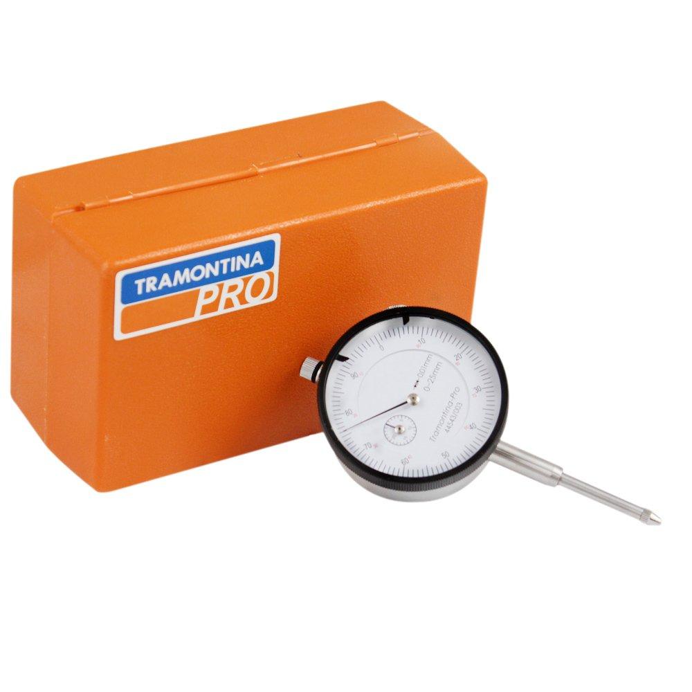 a5432255cba Relógio Comparador 25mm - TRAMONTINA PRO-44543003 - R 209.68