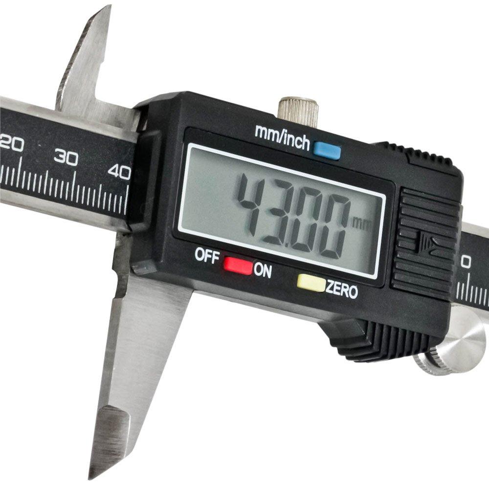 Paquímetro Digital em Aço 150mm - Imagem zoom
