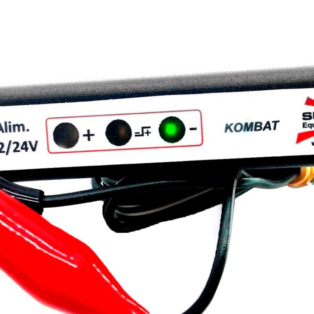 Caneta Teste de Polaridade Iluminação Ultra Brilho 12V e 24 Volts - Imagem zoom