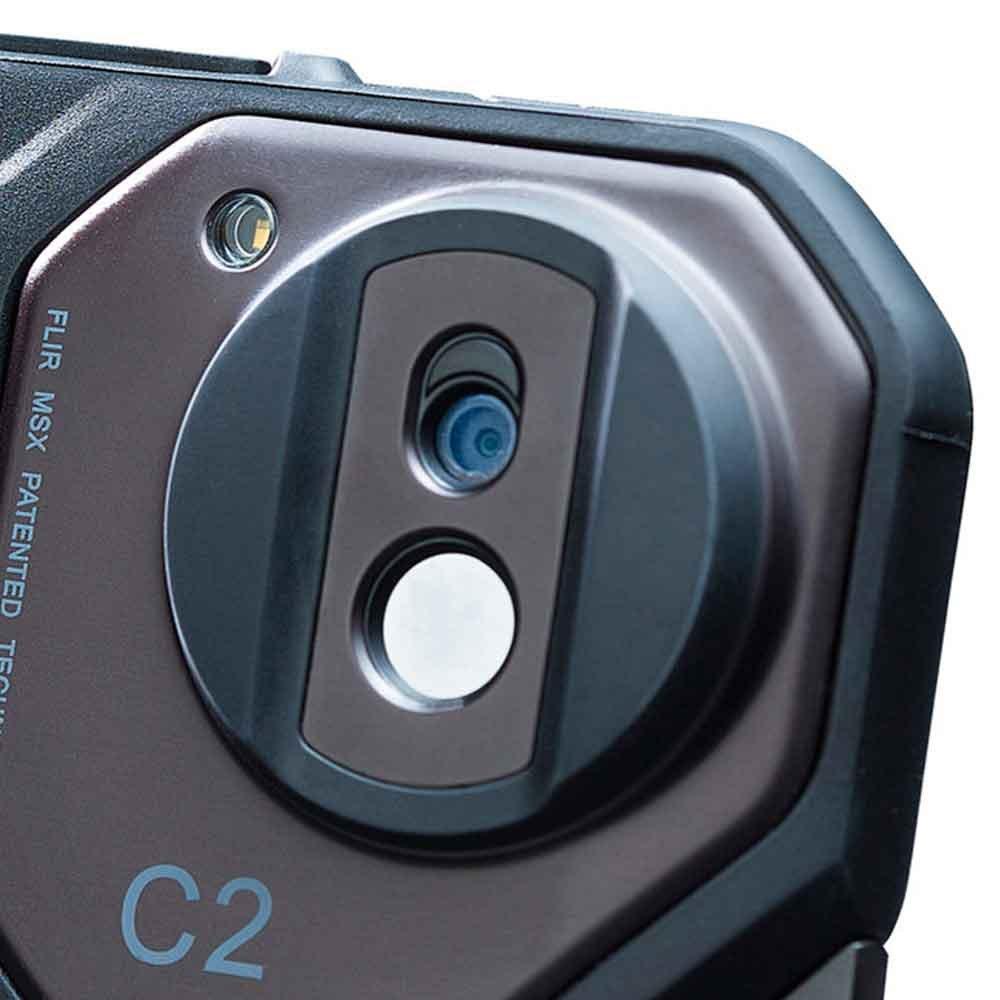 Câmera Térmica Profissional de Bolso - C2 - Imagem zoom