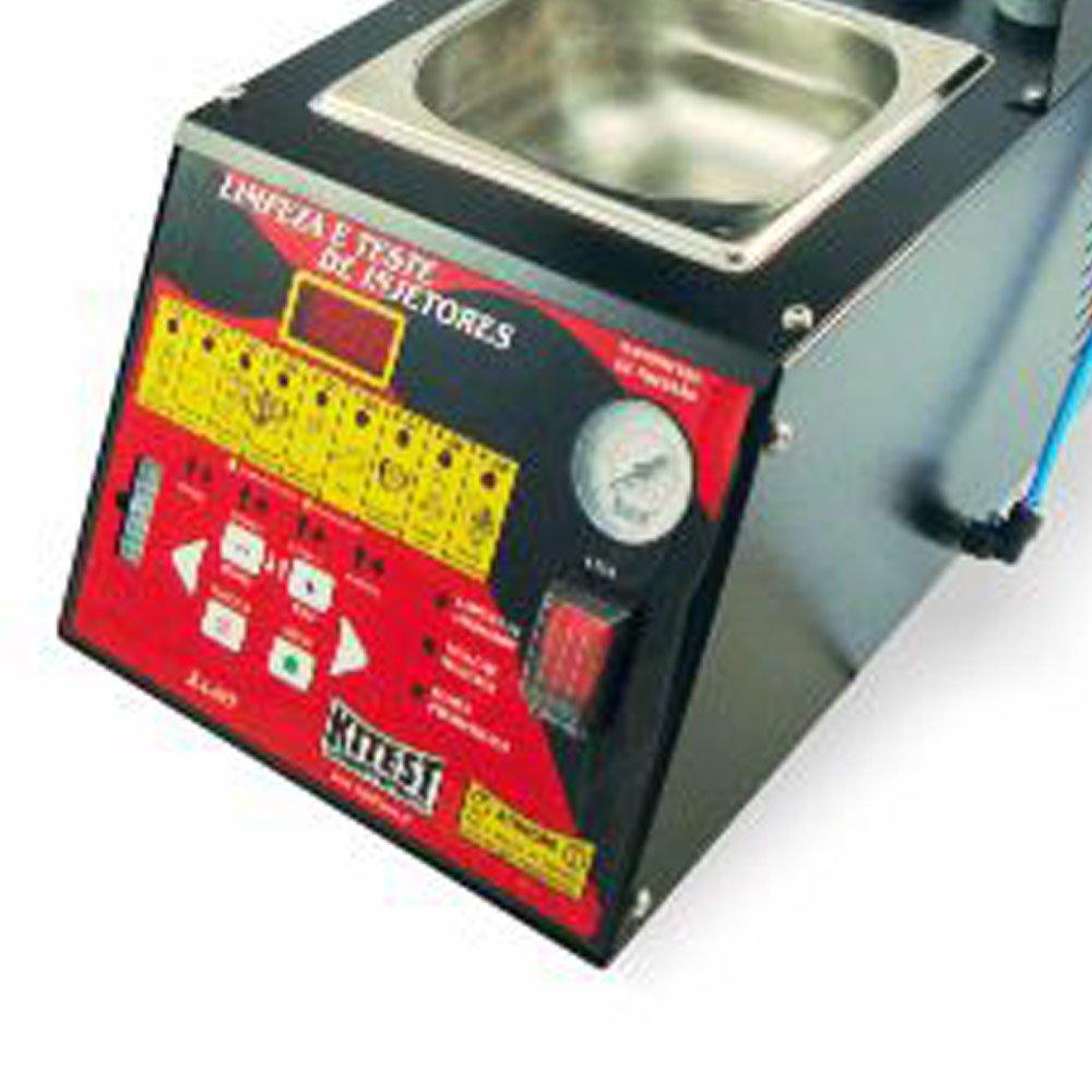 Máquina de Teste e Limpeza de Injetores com Teste de Motor de Passo e Pedal Eletrônico - Imagem zoom