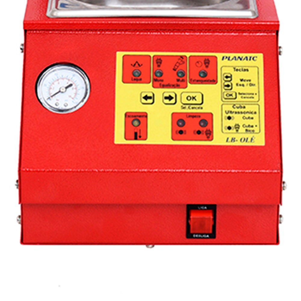 Máquina Limpeza/Teste Injetores Padrão + Cuba 1 Litro - Imagem zoom