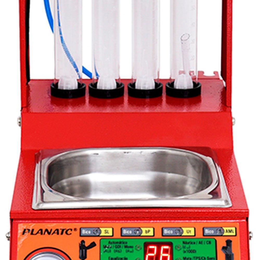 Máquina Limpeza/Teste Injetores Padrão/GDI Injeção Direta e Cuba de 1 Litro - Imagem zoom
