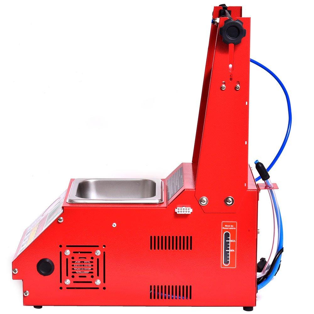 Máquina de Limpeza e Teste de Injetores Padrão/GDI Injeção Direta com 34 Funções e Cuba 1L  - Imagem zoom