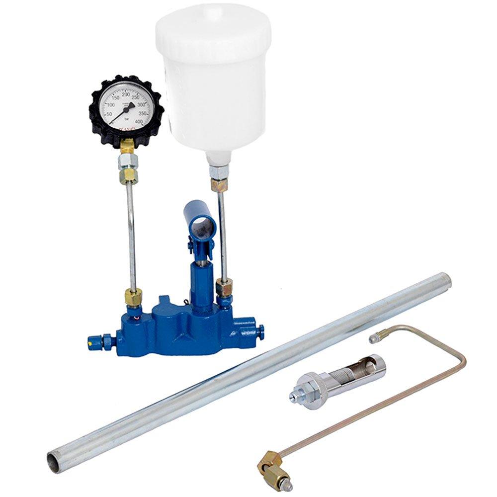 Máquina Limpeza/Teste Injetores Padrão/GDI Injeção Direta com Estrobo 34 Funções e Cuba 1L + Testador Bico CM-300/GDI - Imagem zoom