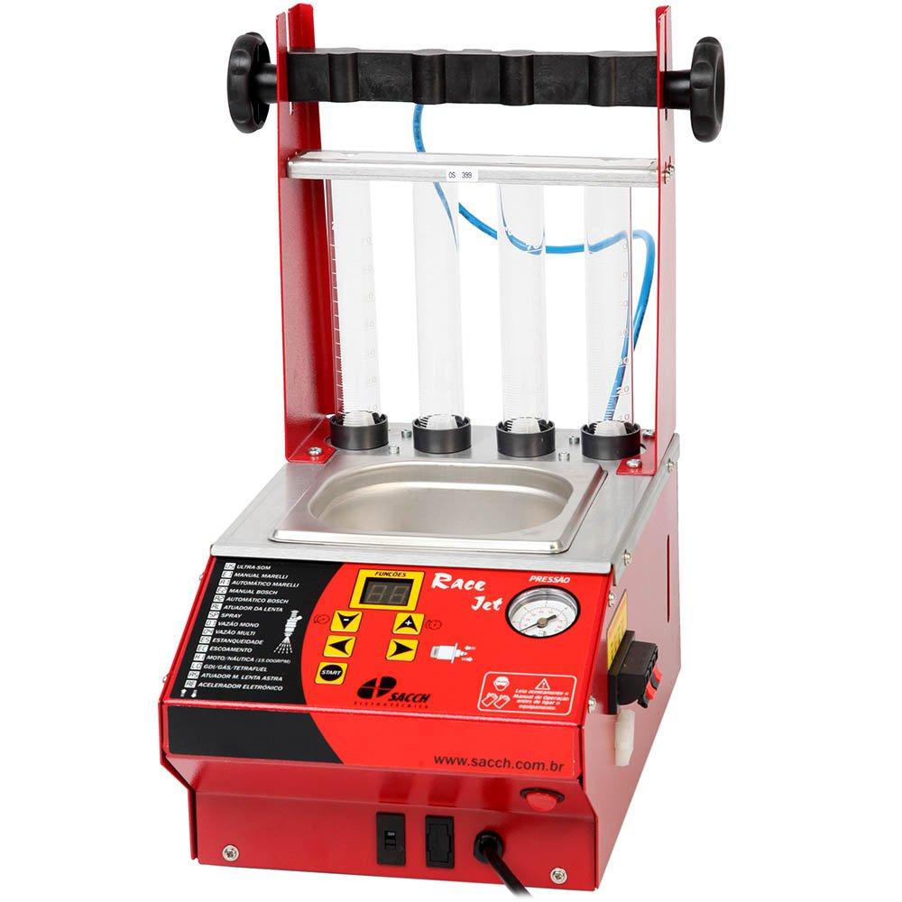 Máquina Limpeza e Teste de Injetores + Teste Corpo Borboleta + Software Bivolt - Imagem zoom