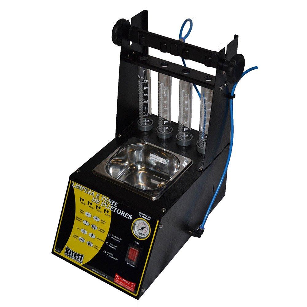 Máquina de Limpeza e Teste de Injetores com Cuba de 1 Litro Embutida - Imagem zoom