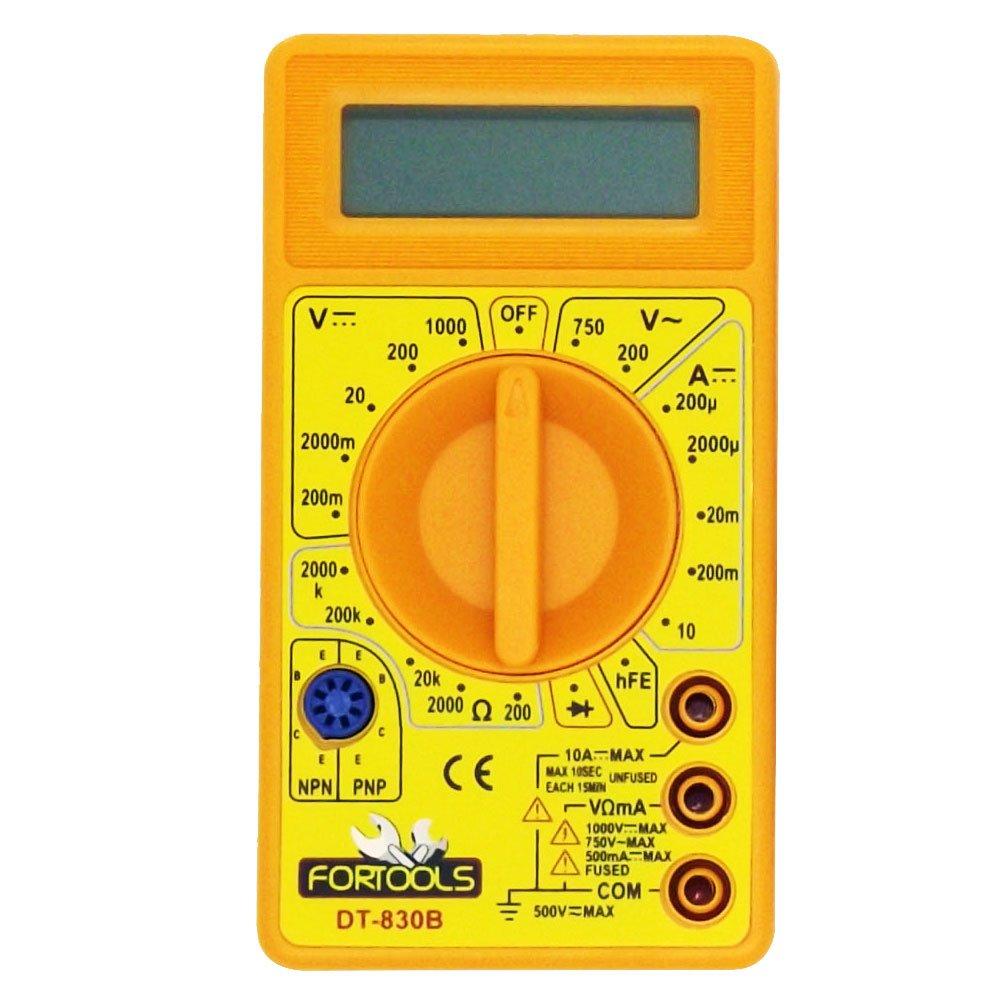 Multímetro Digital com Tela LCD 3.1/2 Pol. - Imagem zoom