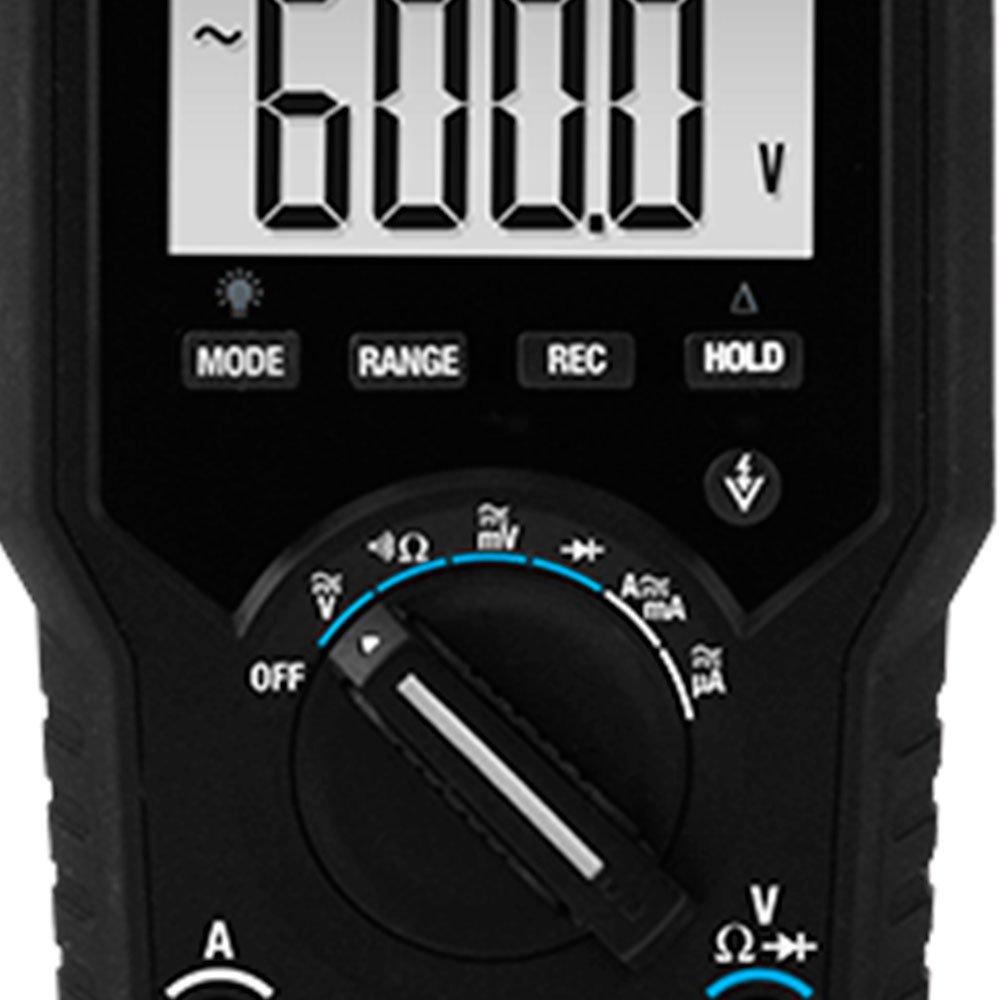 Multímetro Digital TRMS com Detecção de Tensão sem Contato - Imagem zoom