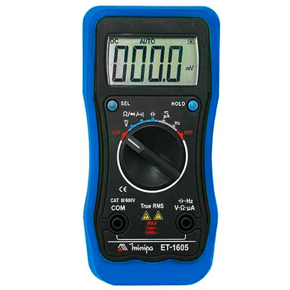 Multímetro com Tela LCD 3 5/6Pol.  - Imagem zoom