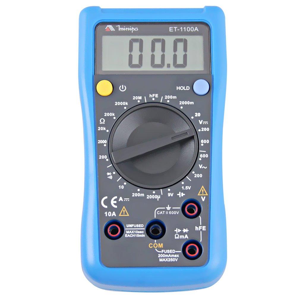 Multímetro Digital ET-1100A - Imagem zoom