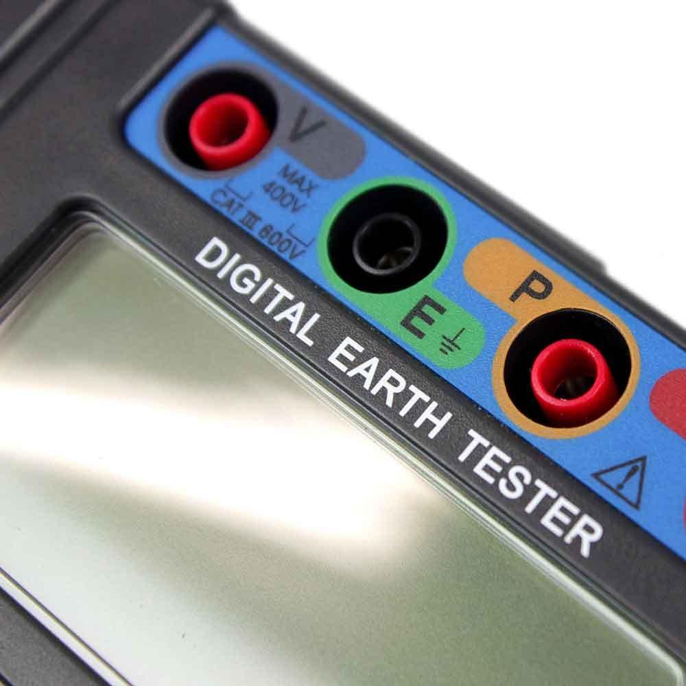 Terrômetro Digital CAT III 600V - Imagem zoom
