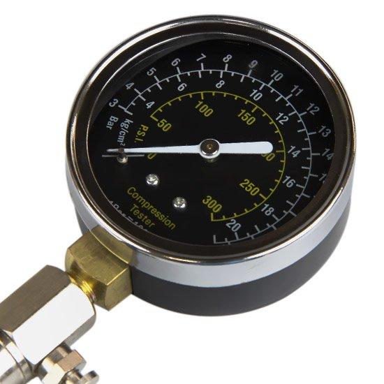 Medidor de Compressão para Motor - 0 a 300 PSI - Imagem zoom