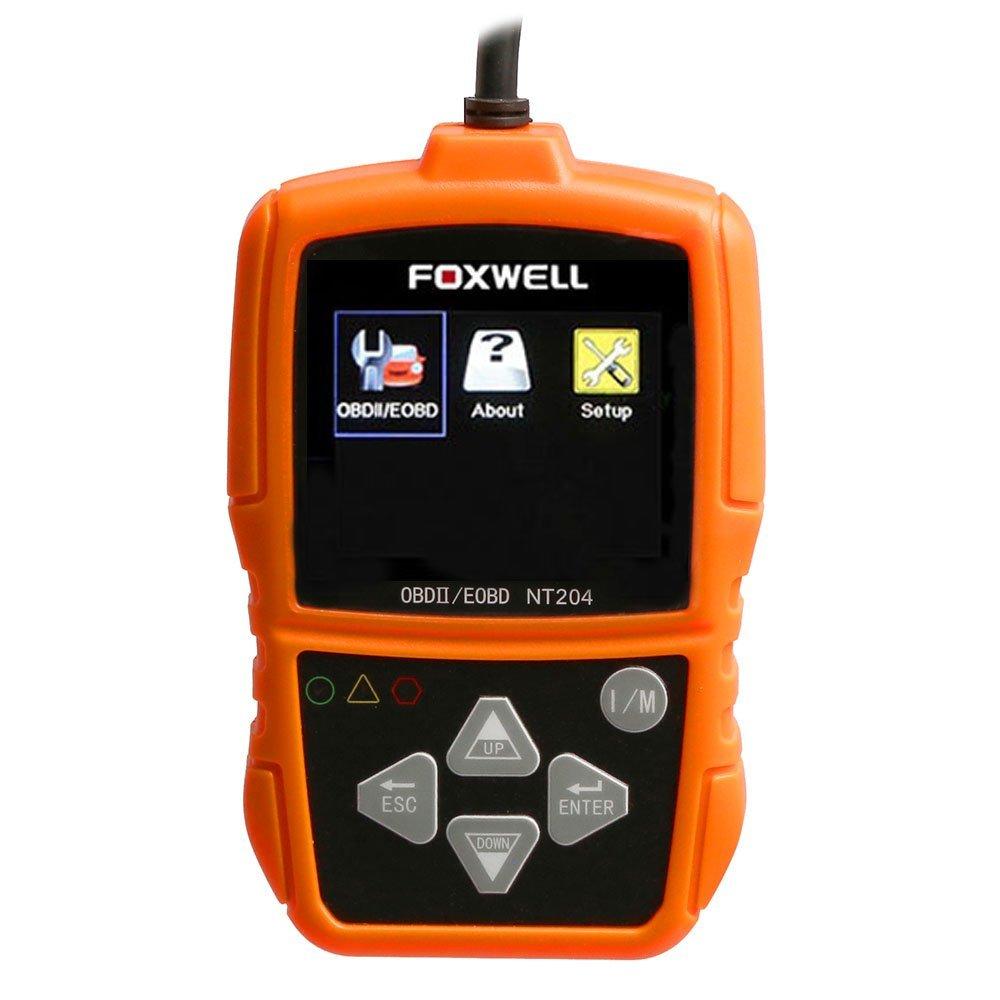 Scanner Leitor de Códigos de Falhas Automotivo Foxwell OBDII/CAN - Imagem zoom