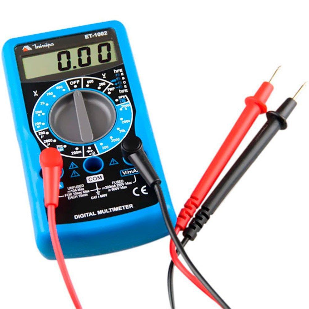 Scanner MAXIDIAG MD 808 ALFATEST-51162005 com Ajuste de A/F e Funções Especiais + Multímetro + Adaptadores de Ponteiras + Caneta Teste de Polaridade - Imagem zoom