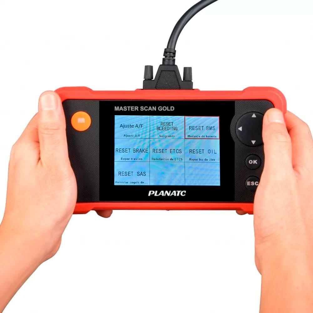 Scanner para Diagnósticos/Motor/Transmissão A/T, Abs, Airbag + 7 Funções Especiais - Imagem zoom