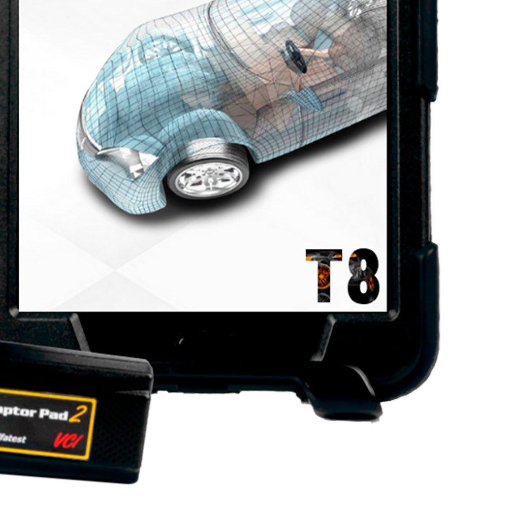Scanner Automotivo Kaptor PAD 2 T8 Auto Full com Cartões e Maleta - Imagem zoom