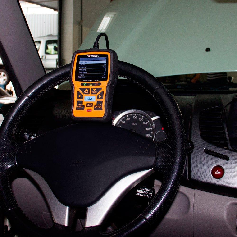Scanner Leitor de Códigos de Falhas Linha Diesel Leve e Carros Foxwell - OBDII/CAN - Imagem zoom
