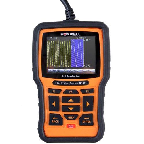 scanner automotivo motor, abs, airbag e transmissão foxwell - obdii/eobd e can