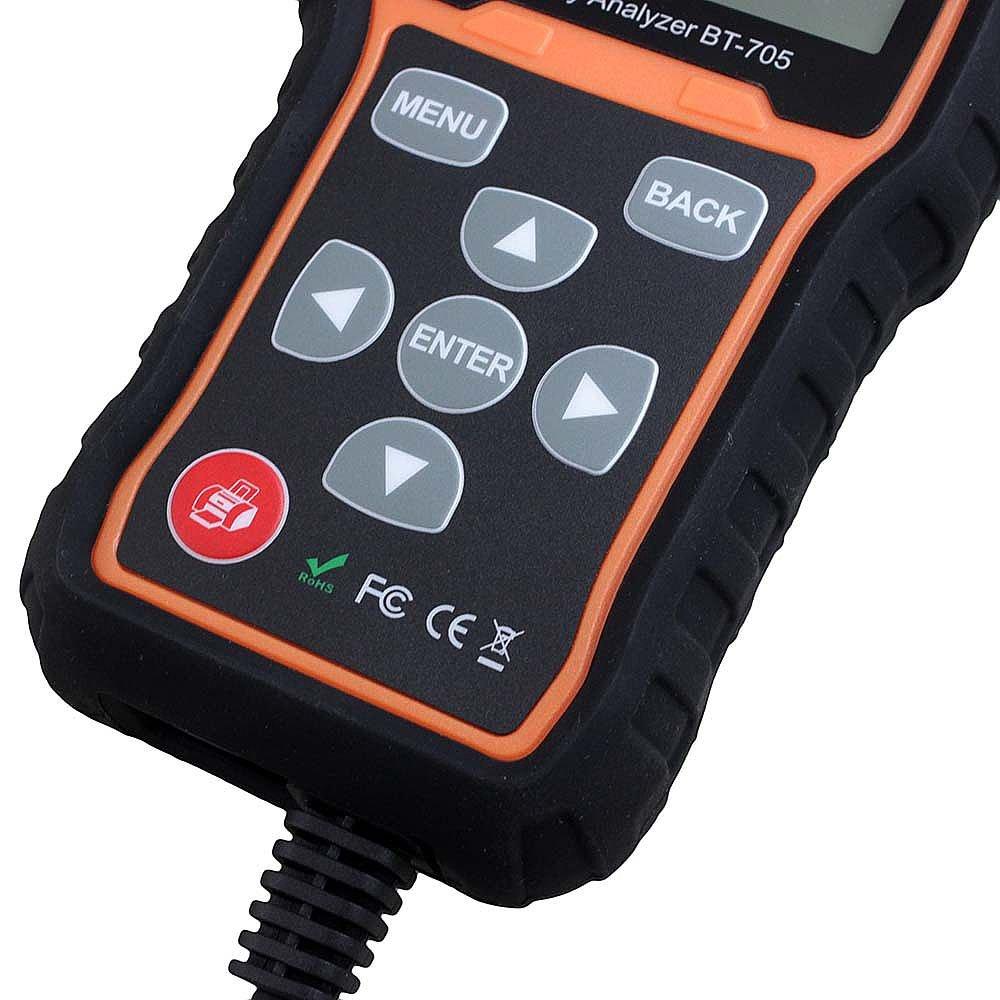 Leitor de Parâmetros e Teste de Bateria Foxwell - Imagem zoom