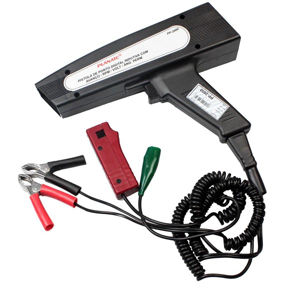 Pistola de Ponto Indutiva Digital com Avanço, RPM, Ângulo Permanência e Voltímetro - Imagem zoom