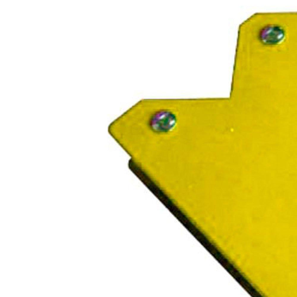 Esquadro Magnético Triangular 25Kg - Imagem zoom