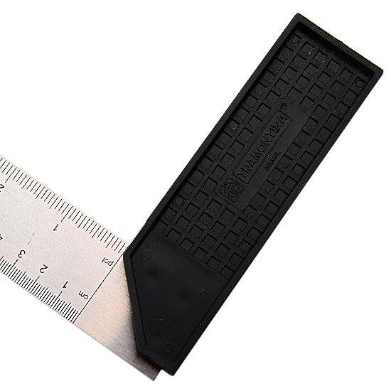 Esquadro Aço Carbono 30 cm com Cabo Plástico - Imagem zoom