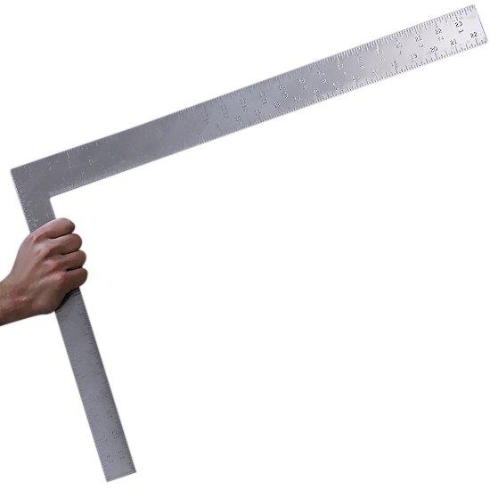Esquadro em Aço para Carpinteiro 24 x 16 Pol. - Imagem zoom