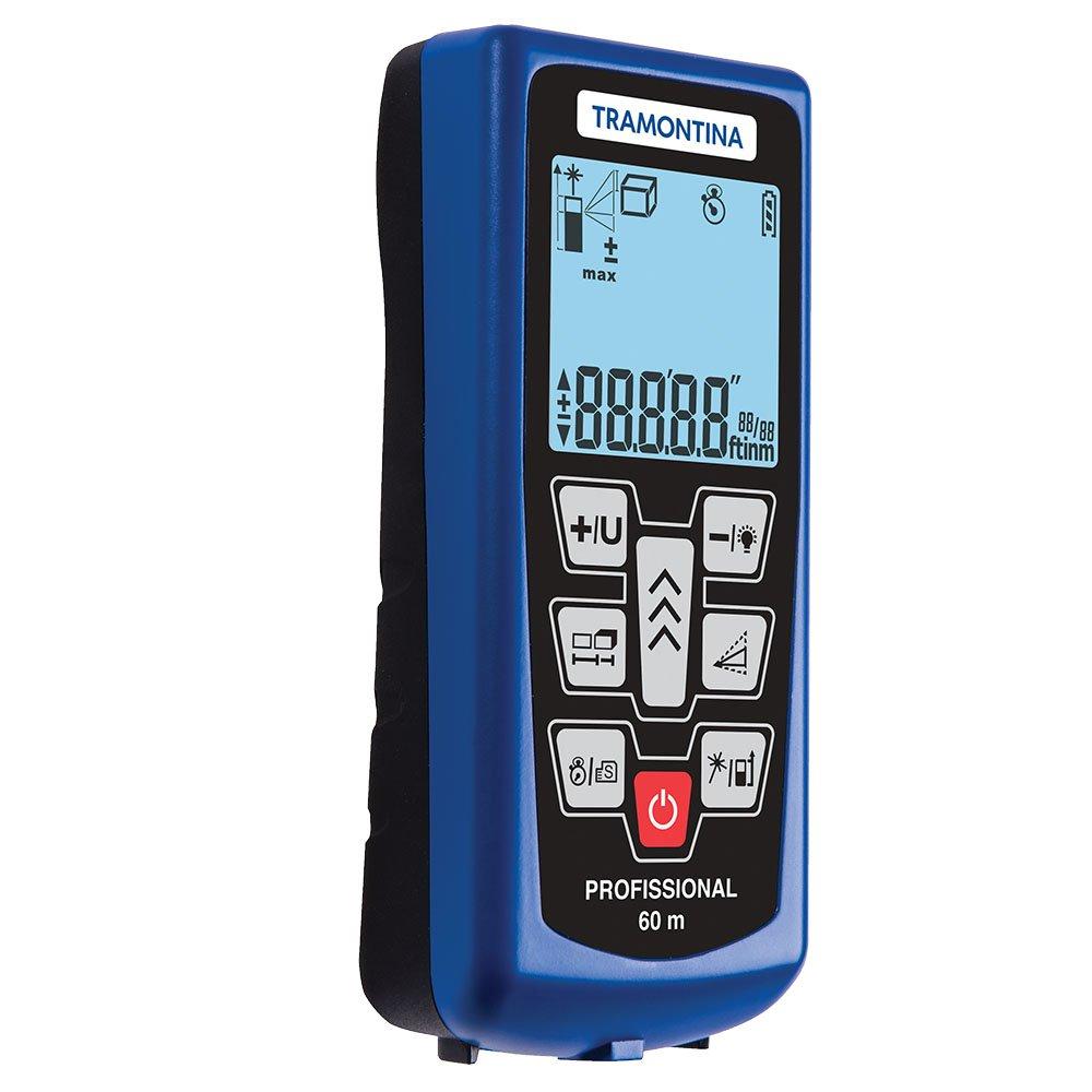 9b8b6cd27 Trena Medidor de Distância a Laser 60m - TRAMONTINA-43151360 - R ...