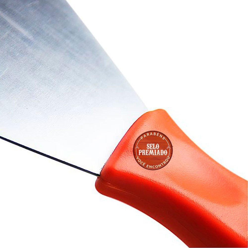 Espátula Rígida com Cabo Plástico de 12 cm - Imagem zoom