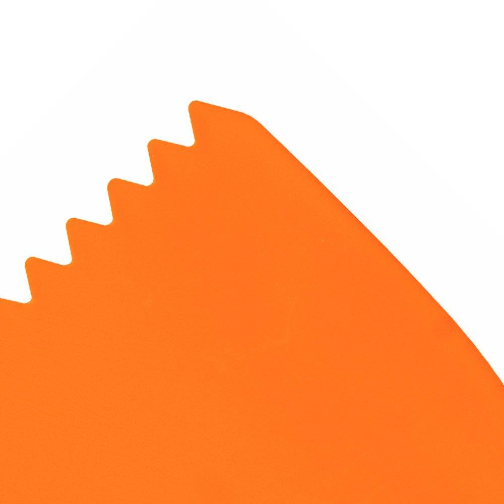 Espátula Plástica Dentada 6cm - Imagem zoom