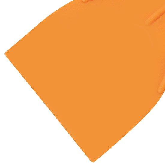 Espátula Plastica Lisa de 8cm  - Imagem zoom