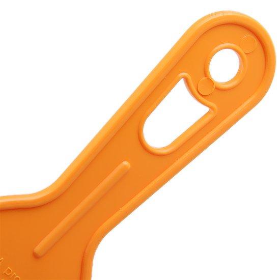 Espatula Plástica Dentada 80 mm - Imagem zoom