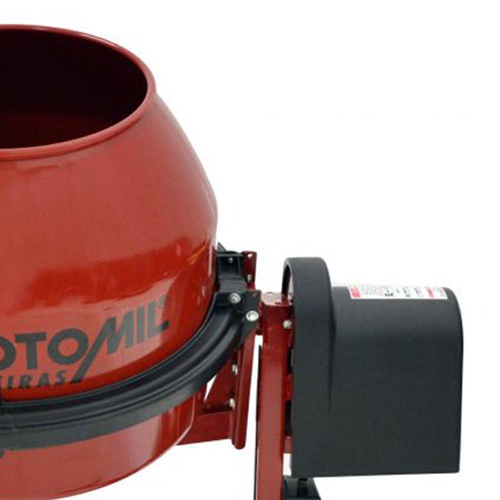 Betoneira 150 Litros Monofásico 1/2HP  com Chave de Segurança - Imagem zoom