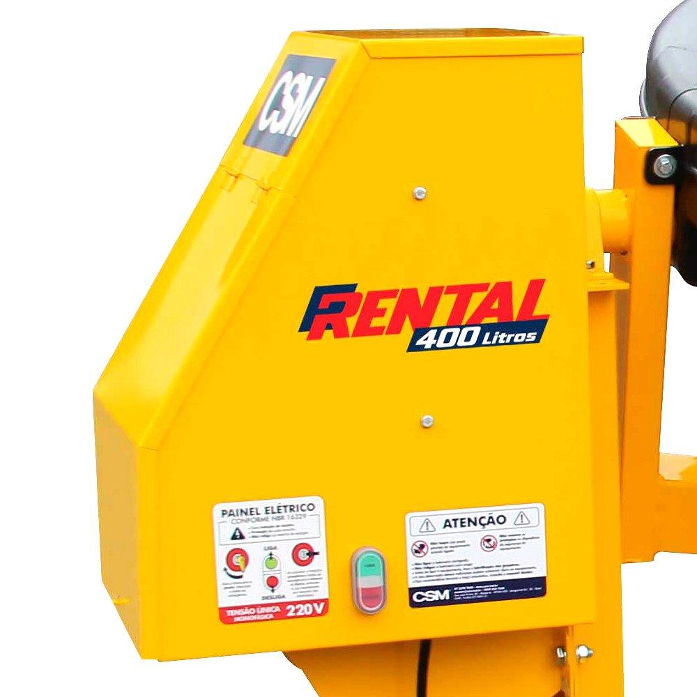 Betoneira Rental 400 Litros 2CV  Monofásica  - Imagem zoom