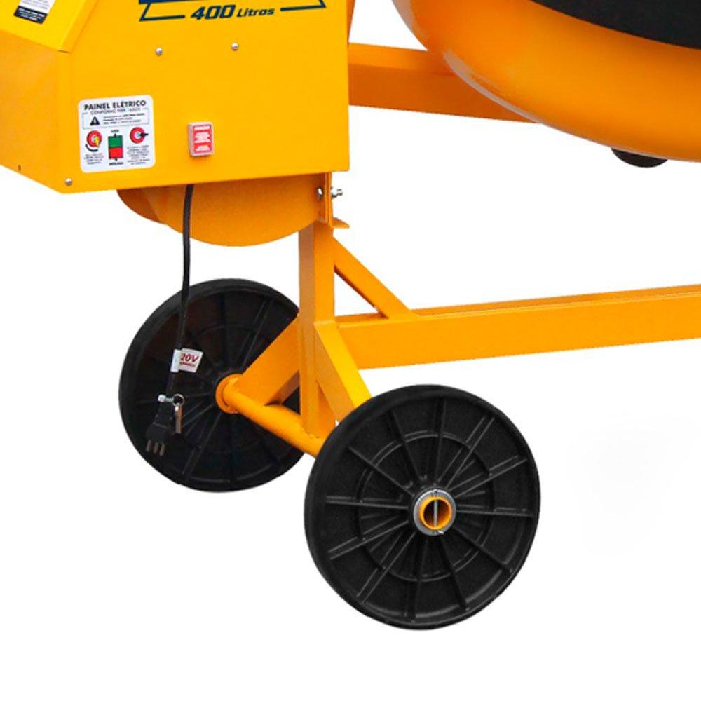 Betoneira Profissional sem Motor 400 Litros com Painel Mono  - Imagem zoom