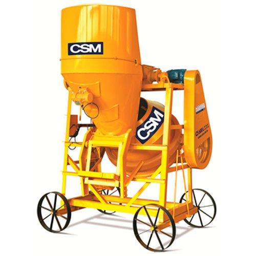 betoneira s.r.e 600 litros trifásico 4cv 14c/h com motovibrador