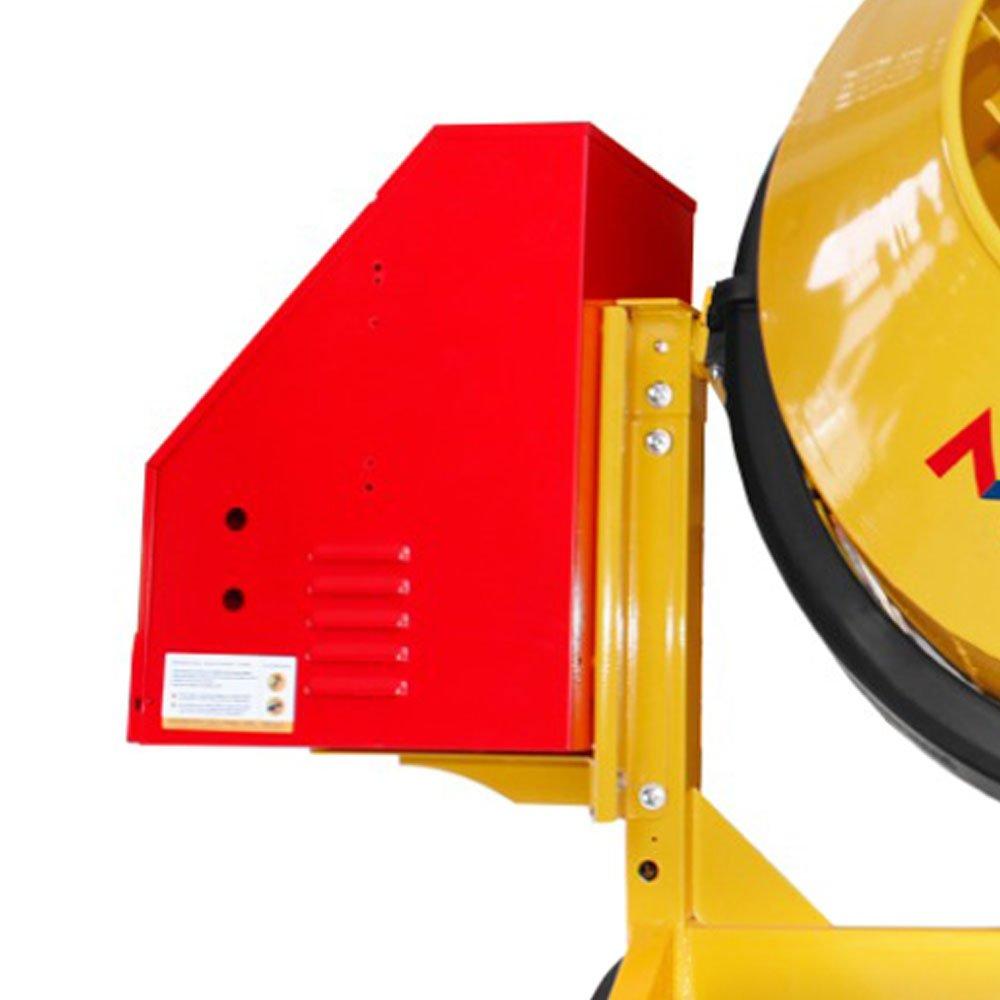 Betoneira 400 Litros Mono 2CV Chapa de Aço de 2,66 mm Rental Max com Kit de Segurança - Imagem zoom