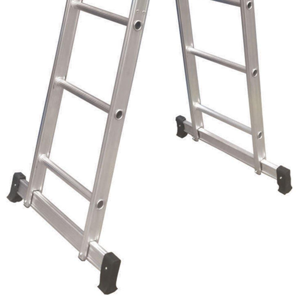 Escada Multifuncional em Alumínio 3x4 com 12 Degraus - Imagem zoom