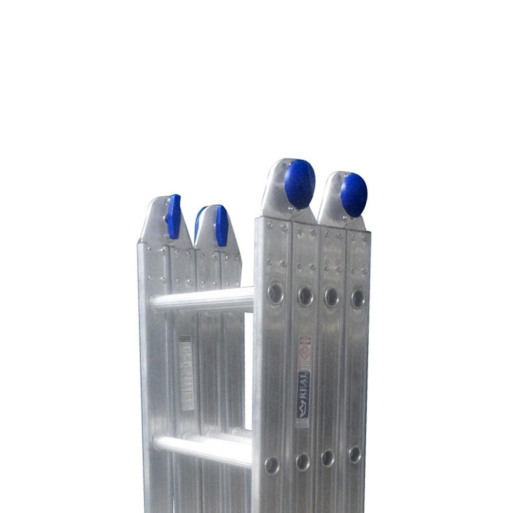 Escada Multifuncional 4x4 com 16 Degraus em Alumínio - Imagem zoom