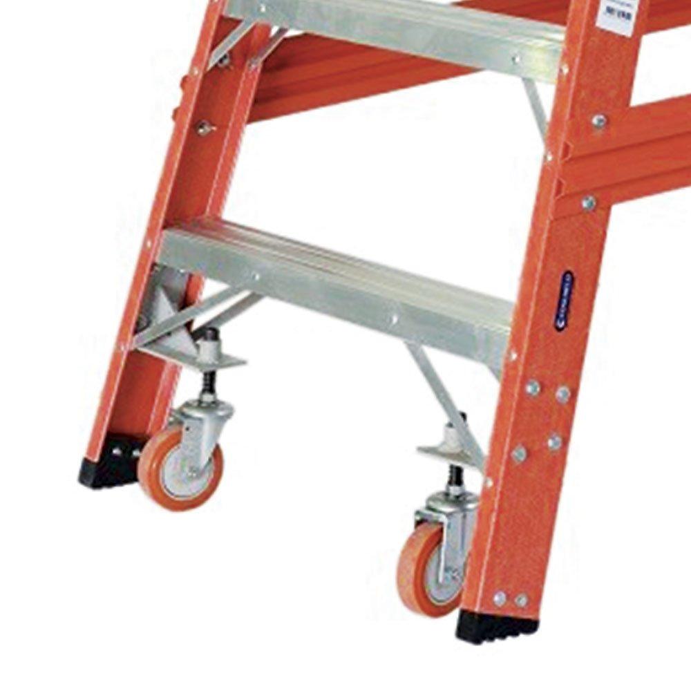 Escada Tipo Plataforma em Fibra de Vidro 3 Degraus 0,85 m - Imagem zoom