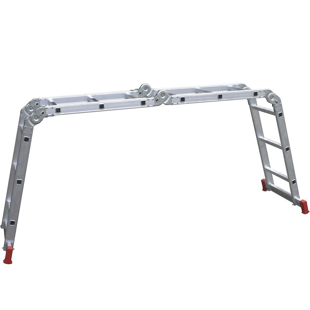 Escada Articulada 13 em 1 3x4 com 12 Degraus de Alumínio - Imagem zoom